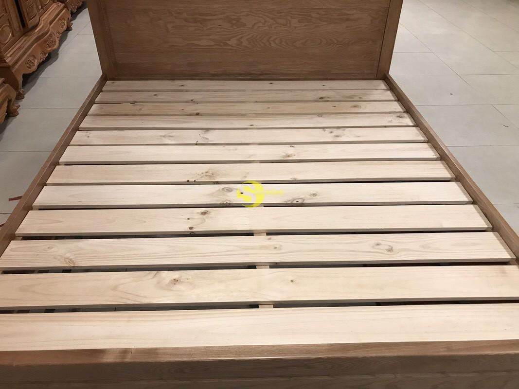 Giường ngủ gỗ sồi có hộc 1m8 – LCMGN15 (Ảnh 7)