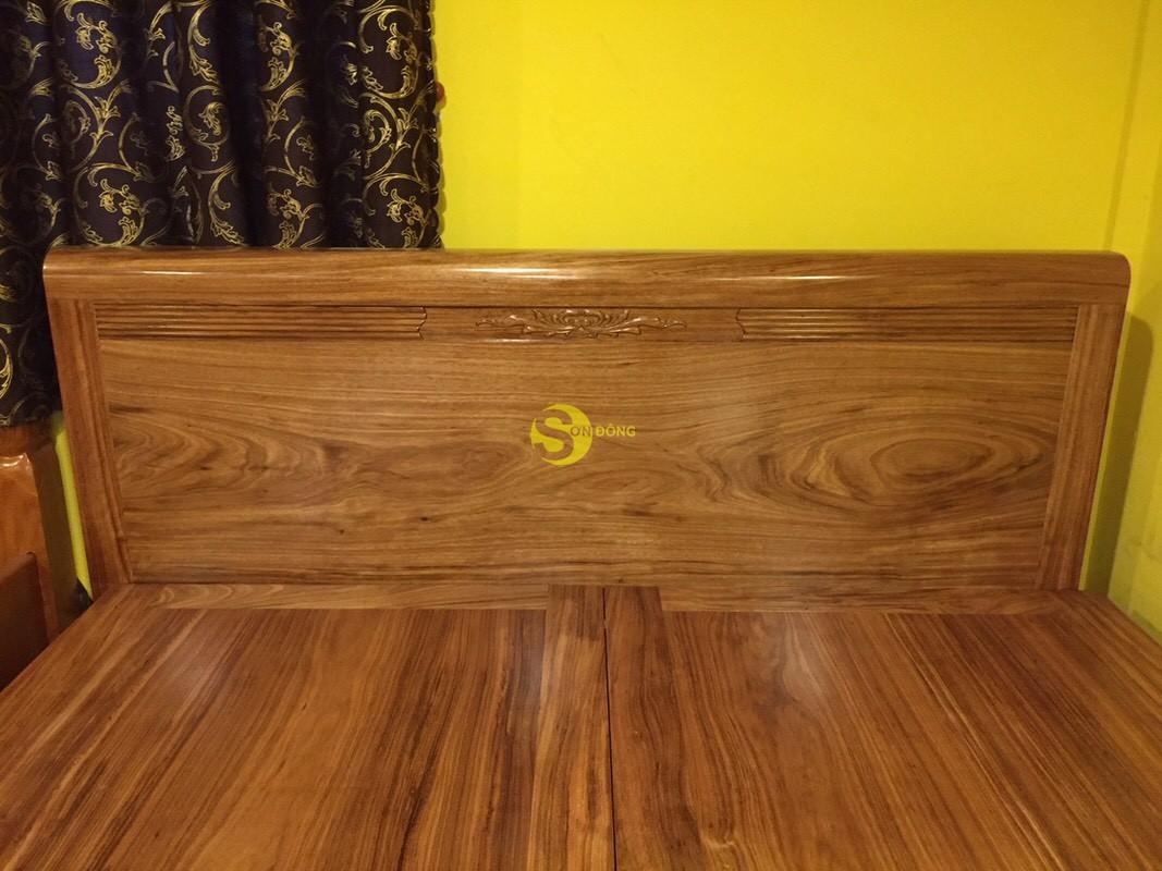 Giường ngủ hương xám 1m8 giá rẻ – GHX001 (Ảnh 4)