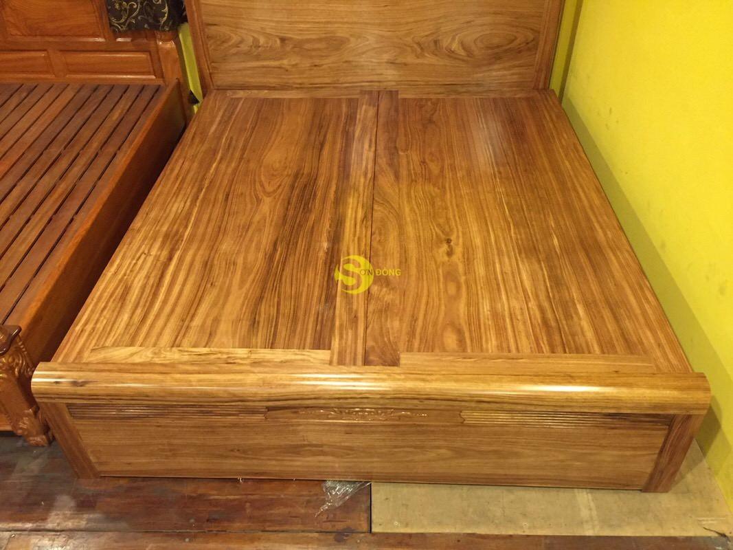 Giường ngủ hương xám 1m8 giá rẻ – GHX001 (Ảnh 5)