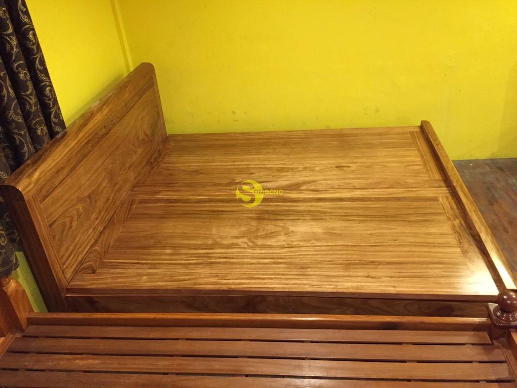 Giường ngủ hương xám 1m8 giá rẻ – GHX001 (Ảnh 6)