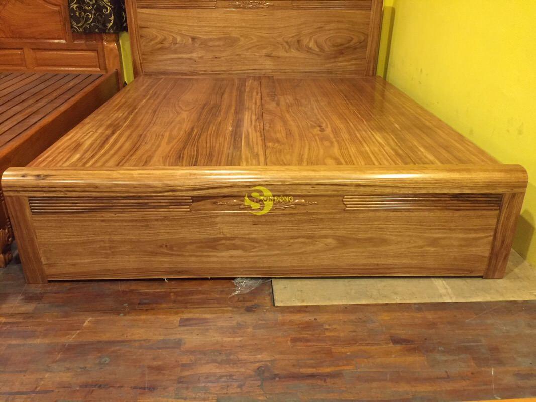 Giường ngủ hương xám 1m8 giá rẻ – GHX001 (Ảnh 8)