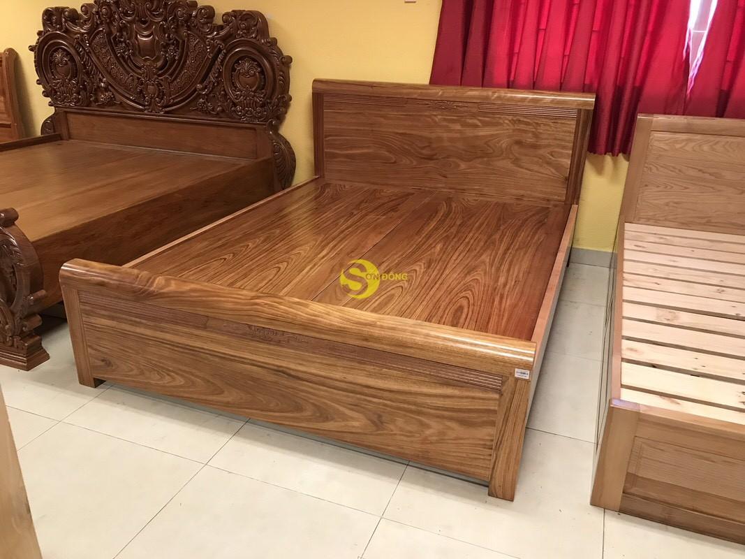 Giường ngủ hương xám 1m6 giá rẻ – GHX002 (Ảnh 1)