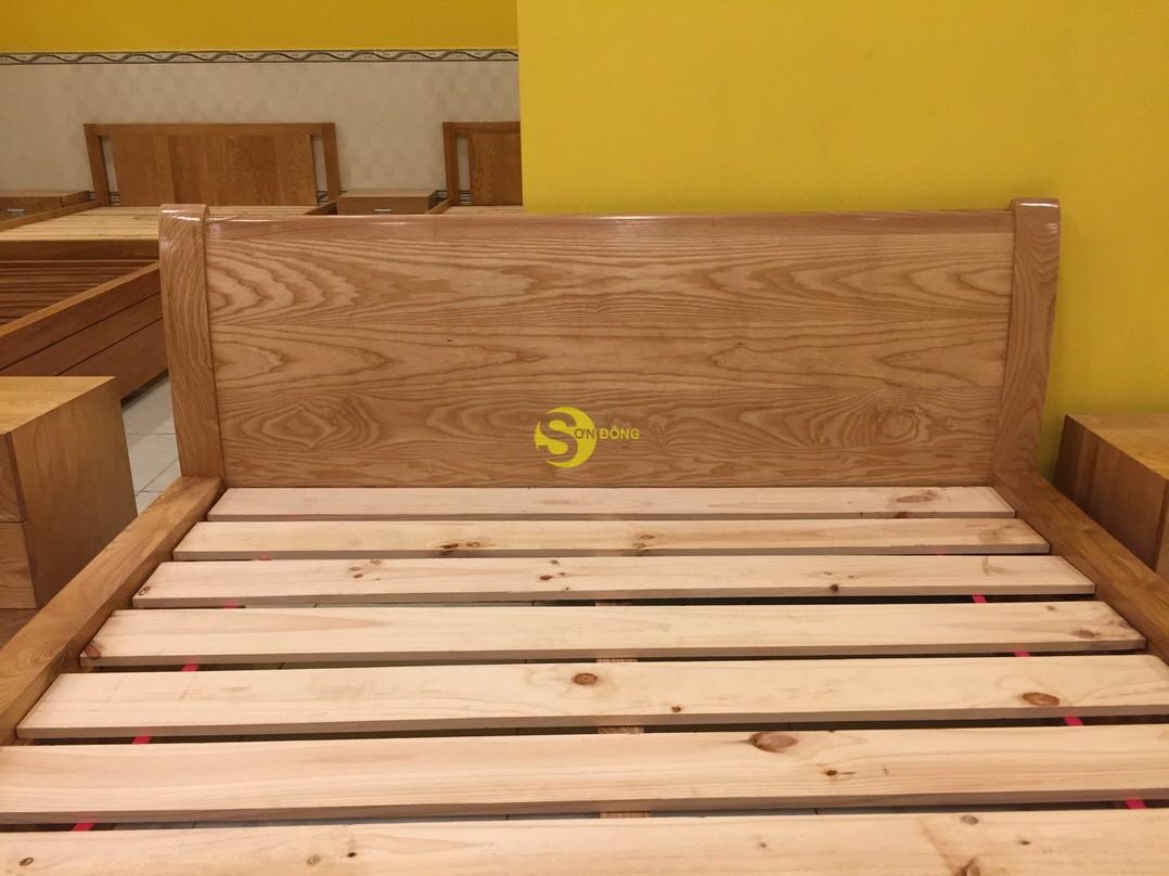 Giường ngủ gỗ sồi 1m6 – LCMGN05 (Ảnh 8)