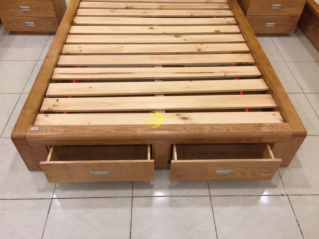 Giường ngủ gỗ sồi 1m6 – LCMGN05 (Ảnh 7)