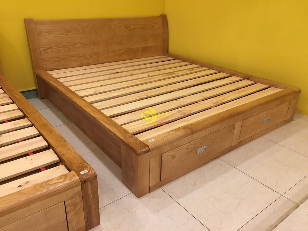 Giường ngủ gỗ sồi 1m8 – LCMGN06 (Ảnh 7)