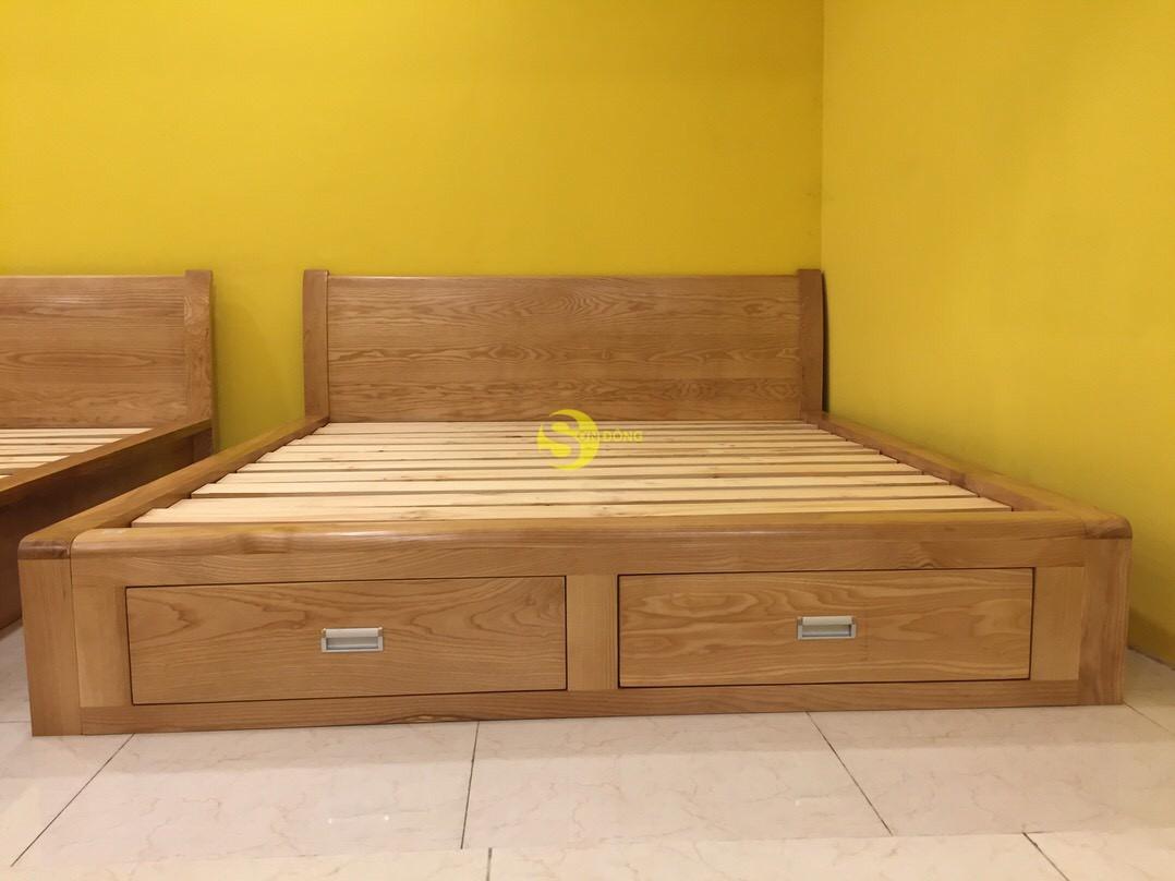 Giường ngủ gỗ sồi 1m8 – LCMGN06 (Ảnh 8)