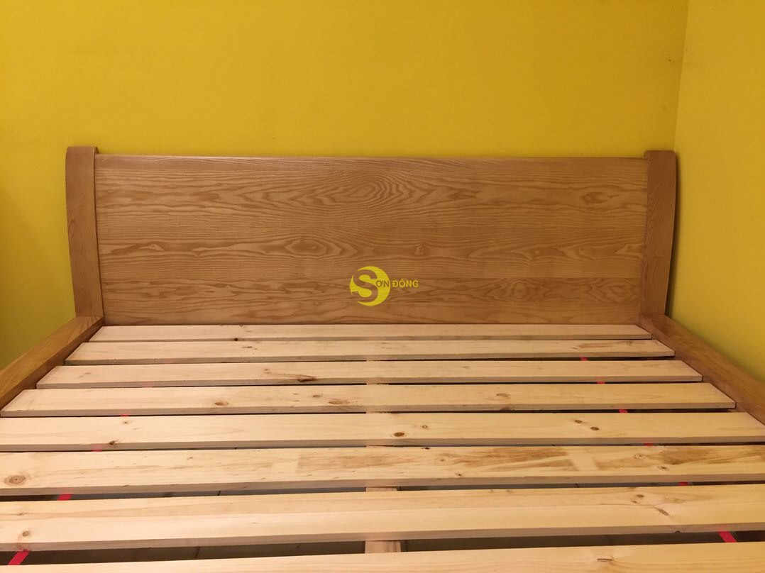 Giường ngủ gỗ sồi 1m8 – LCMGN06 (Ảnh 3)