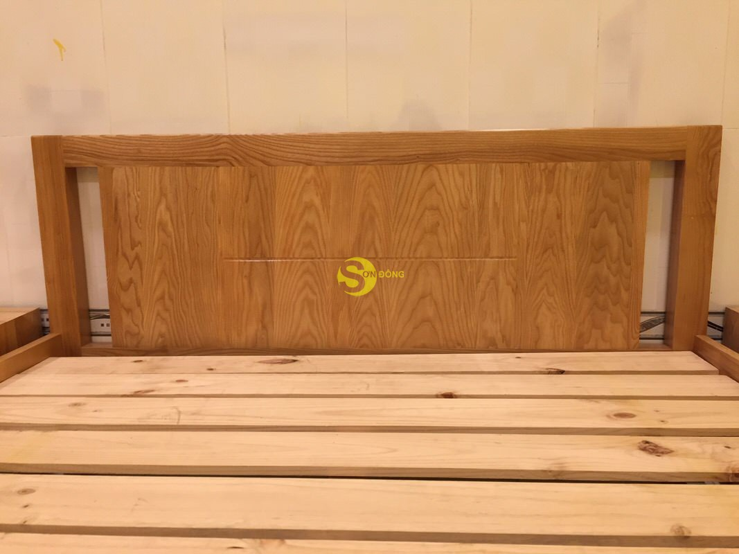 Giường ngủ gỗ sồi kiểu nhật 1m4 – LCMGN10 (Ảnh 4)