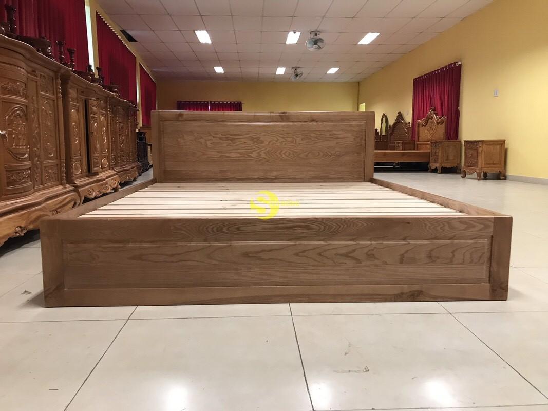 Giường ngủ gỗ sồi có hộc 1m8 – LCMGN15 (Ảnh 3)