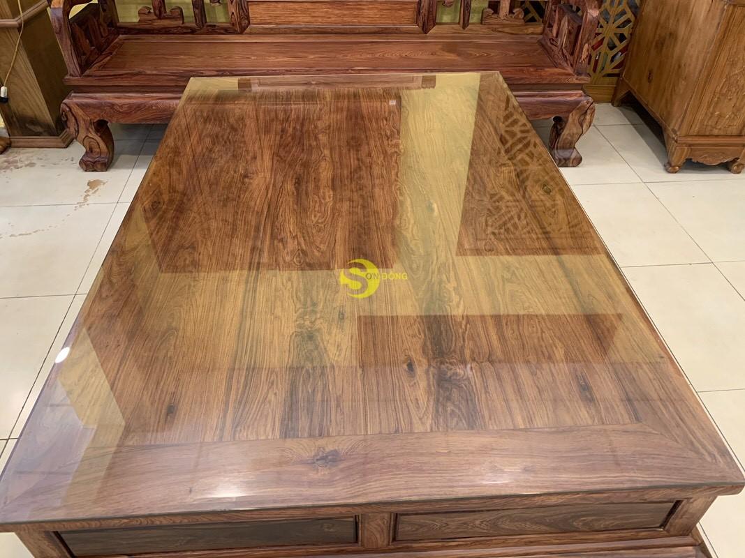 Bộ bàn ghế sơn thủy gỗ cẩm lai 10 món chân 14 – BBG1442 (Ảnh 8)