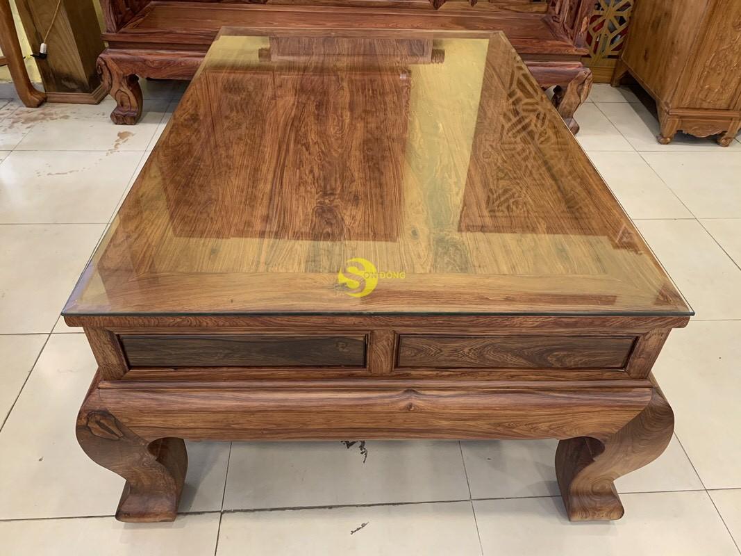 Bộ bàn ghế sơn thủy gỗ cẩm lai 10 món chân 14 – BBG1442 (Ảnh 7)