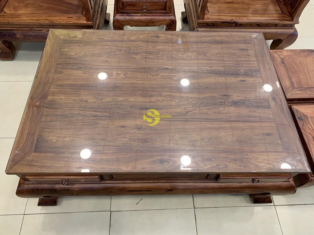 Bộ bàn ghế sơn thủy gỗ cẩm lai 10 món chân 14 – BBG1442 (Ảnh 6)