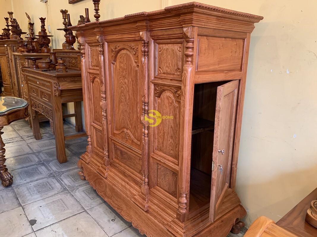 Tủ thờ hương đá trơn vuông 1.53m SD36 (Ảnh 7)