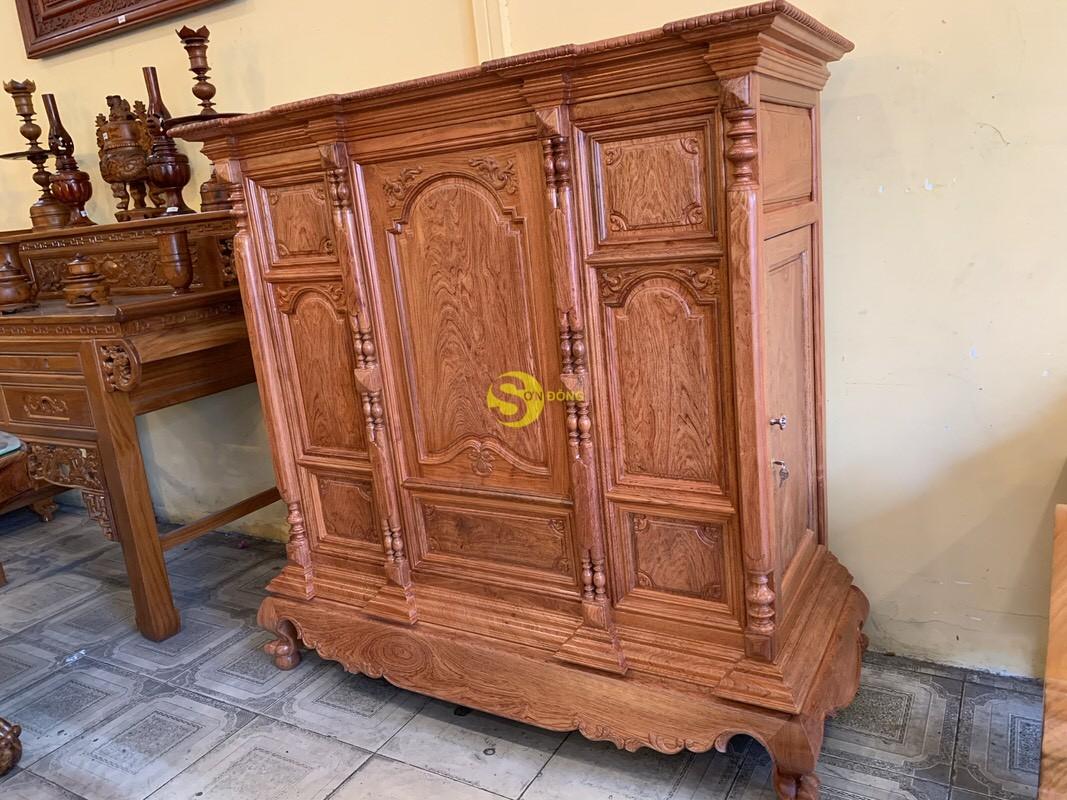 Tủ thờ hương đá trơn vuông 1.53m SD36 (Ảnh 6)