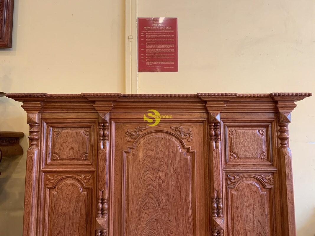 Tủ thờ hương đá trơn vuông 1.53m SD36 (Ảnh 2)