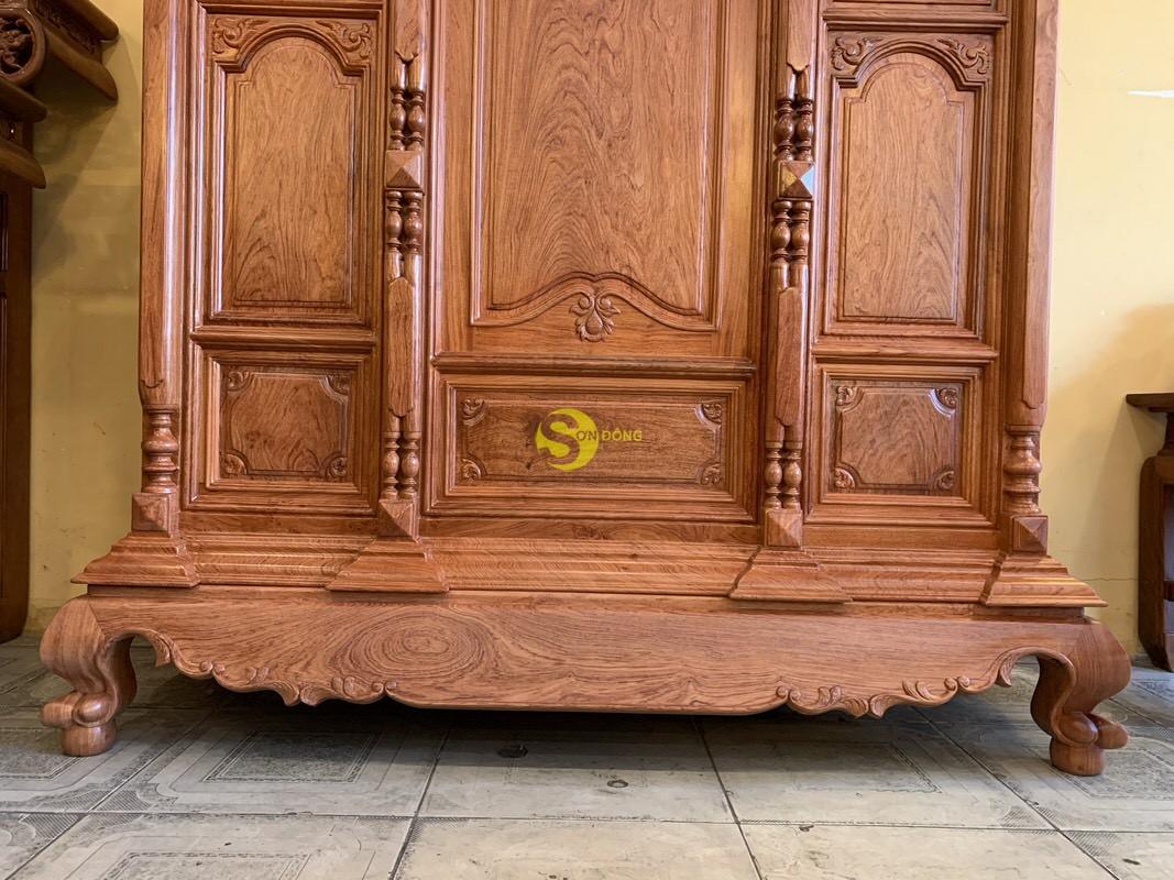 Tủ thờ hương đá trơn vuông 1.53m SD36 (Ảnh 1)