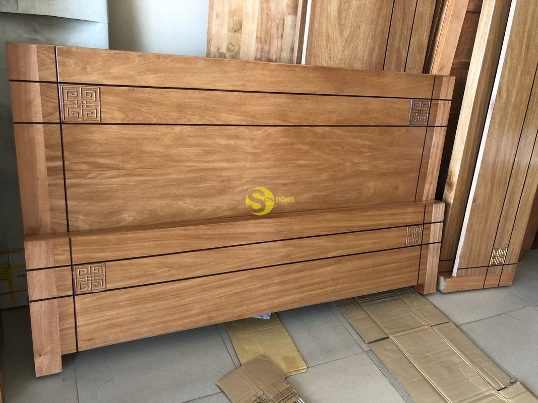 Giường ngủ kiểu nhật gỗ đinh hương 1m8 giá rẻ (Ảnh 2)