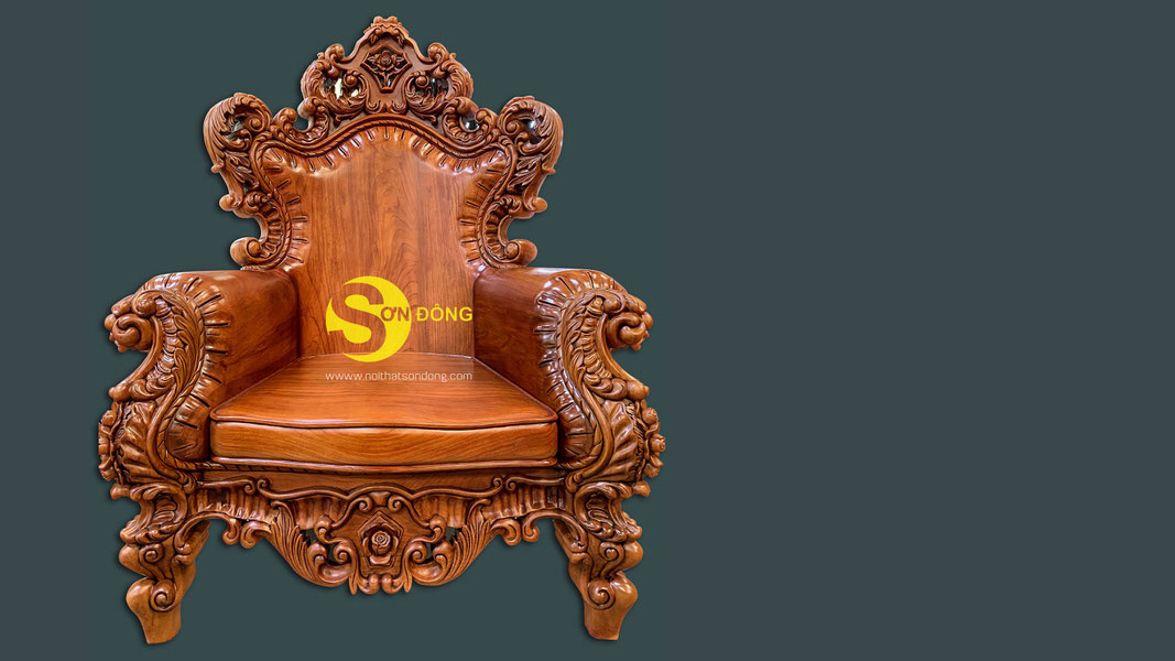 Bộ sofa cổ điển gỗ gõ đỏ 9 món siêu VIP1-BBG353VIP (Ảnh 2)