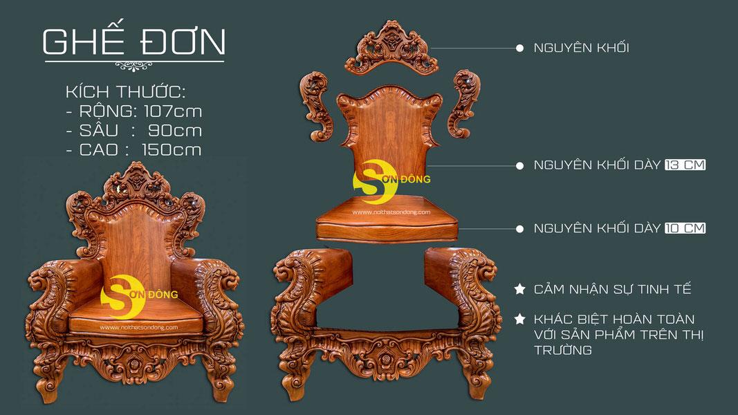 Bộ sofa cổ điển gỗ gõ đỏ 9 món siêu VIP1-BBG353VIP (Ảnh 1)