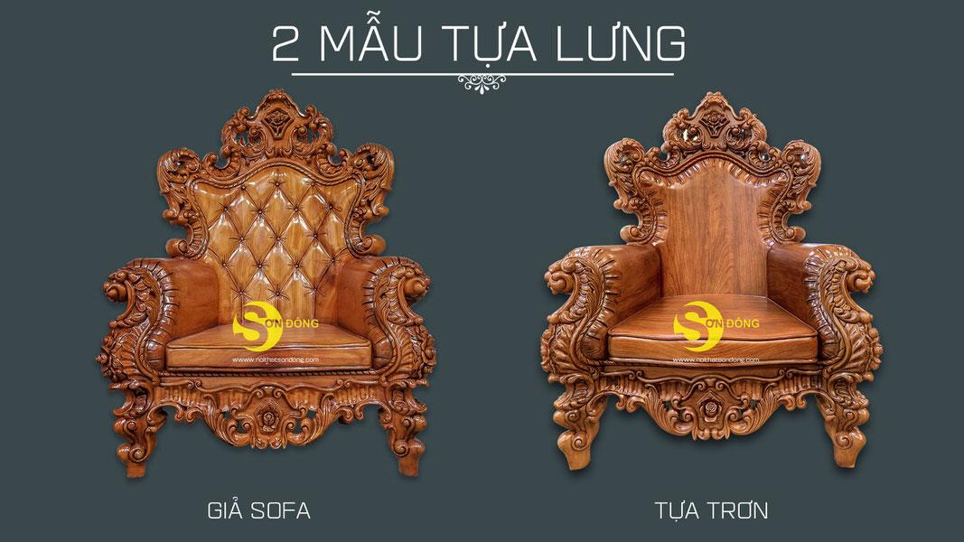 Bộ sofa cổ điển gỗ gõ đỏ 9 món siêu VIP1-BBG353VIP (Ảnh 5)